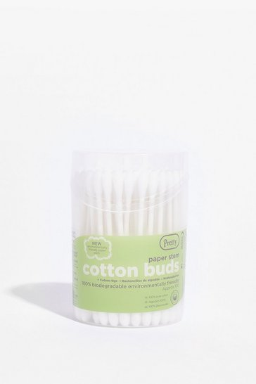 White Count Cotton Me 100-Pc Cotton Bud Set