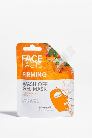 Masque gel raffermissant à rincer Face Facts, Beige