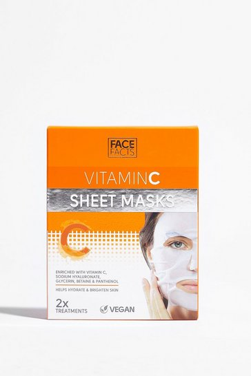 White Glow For It 2-Pc Vitamin C Sheet Mask Set