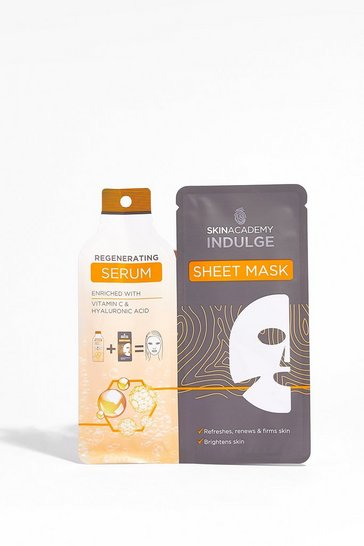 Gold INDULGE SERUM SHEET MASK - REGENERATING