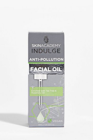 Huile visage anti-pollution Skin Academy, Green