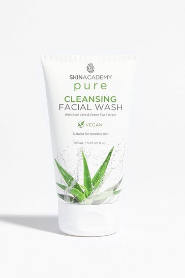 White SKIN ACADEMY PURE CLEANSING FACIAL SCRUB