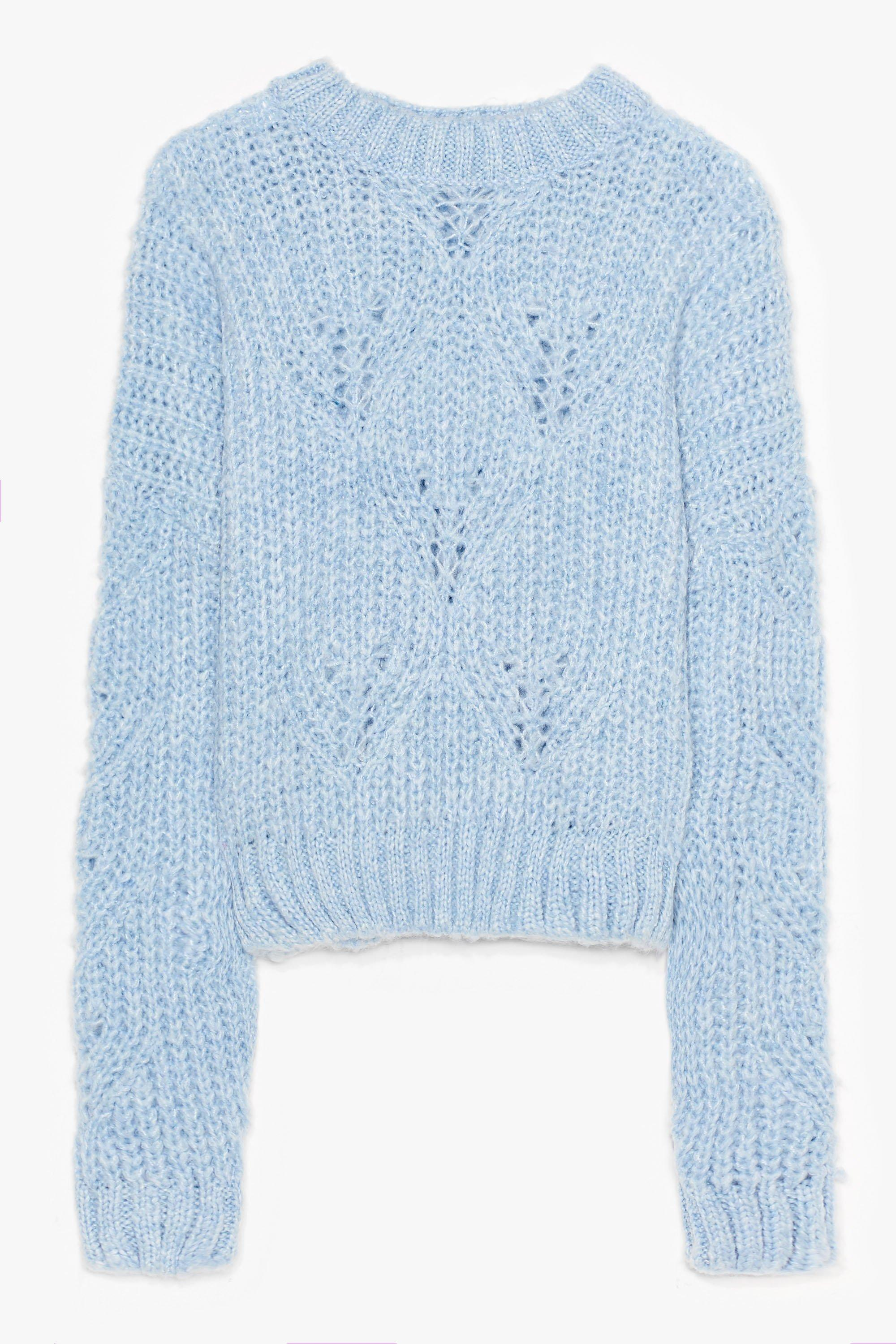 Keep Knit Simple Plus Cable Knit Sweater 8