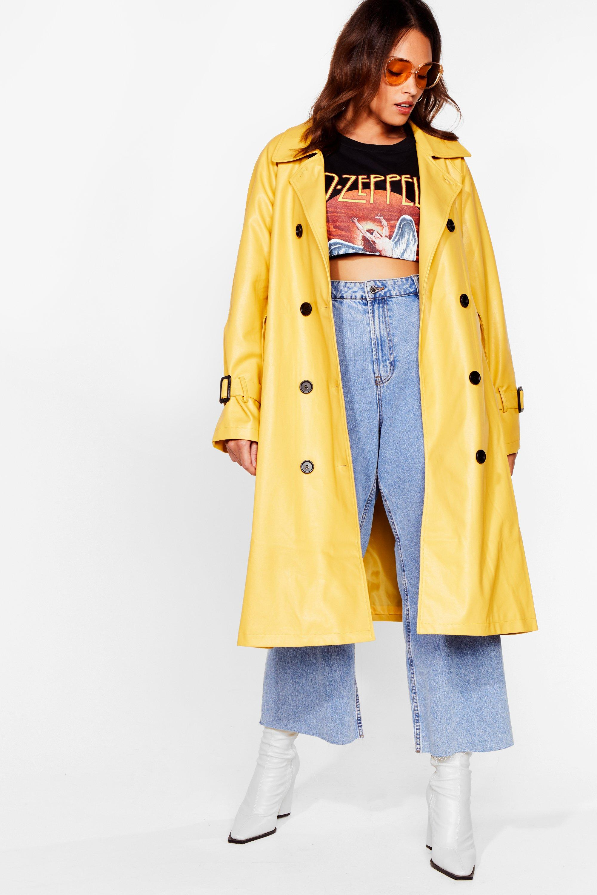 Time is on My Shine Plus Belted Trench Coat 8