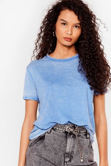 Denim Wash Over Them Relaxed Tee