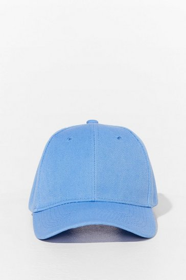 Baby blue Come to a Head Corduroy Baseball Cap