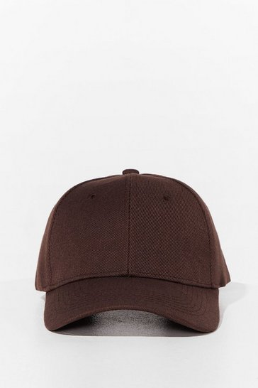Brown Come to a Head Corduroy Baseball Cap