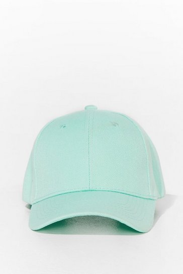 Mint Come to a Head Corduroy Baseball Cap