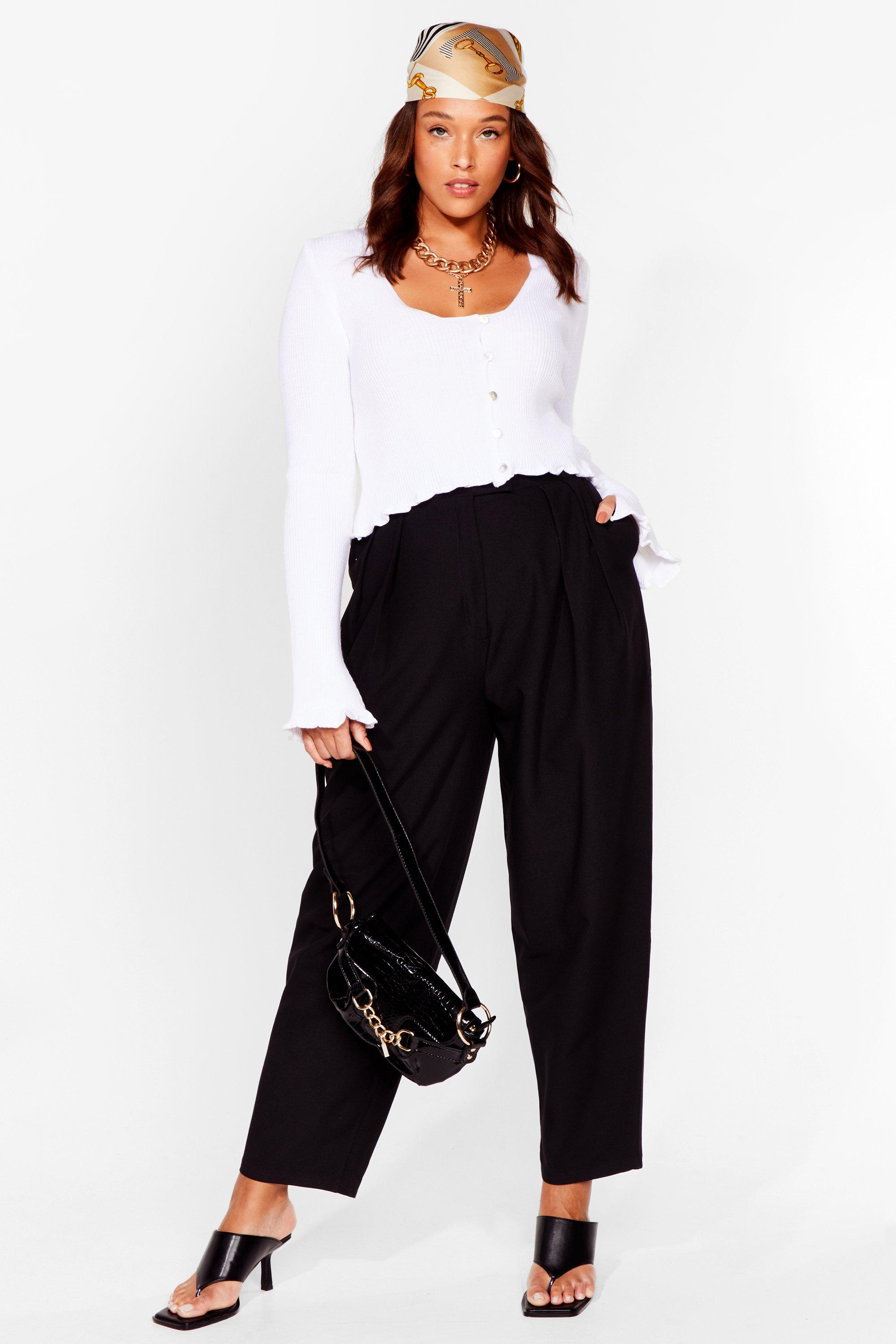 Dance to the Pleat Plus Tapered Pants 8