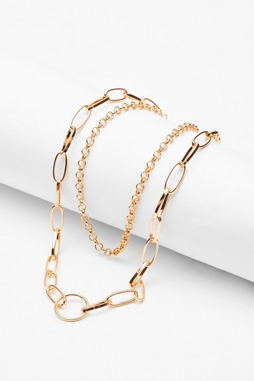 Gold Chain Dainty Necklace