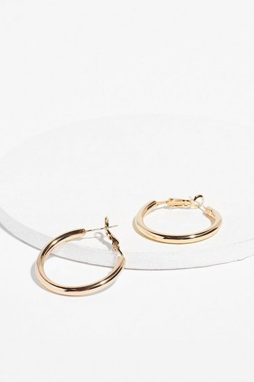 Gold Got the Goss 2-Pc Hoop Earrings Set