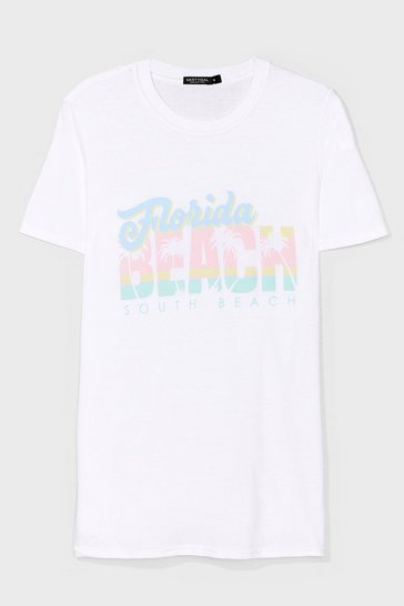 White Florida Graphic Tee