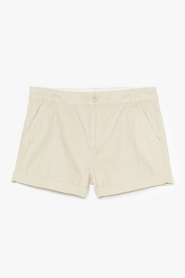 Stone All Eyes on You Twill Shorts