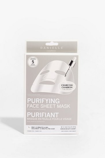 White DANIELLE So Pure 5-Pc Sheet Mask Set