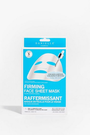 White Collagen & Retinol Restoring Firming Mask 5PK