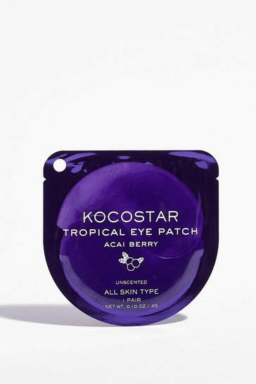 Purple KOCOSTAR Stay on Tropic Acai Eye Patches