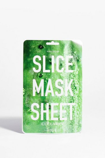 Green KOCOSTAR Play Slice Cucumber Sheet Mask