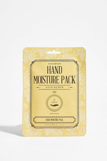 White KOCOSTAR Hand Moisture Gloves Pack
