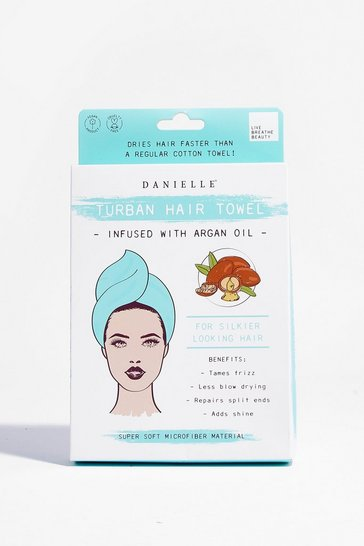 Turquoise DANIELLE It's a Wrap Argan Hair Wrap