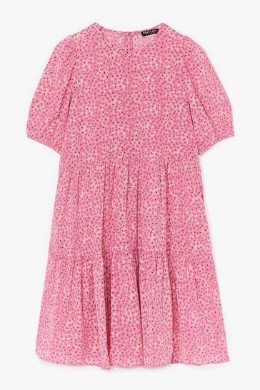 Pink Never Had It So Bud Floral Mini Dress