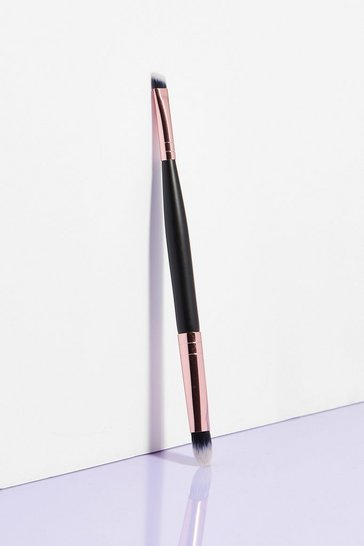 Black Blend the Rules Double-Ended Cosmetic Brush