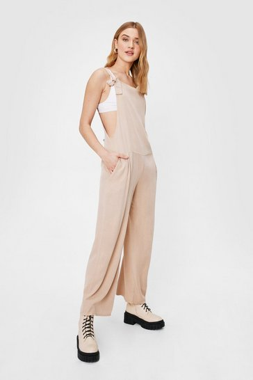 Camel Tie Found You Wide-Leg Jumpsuit