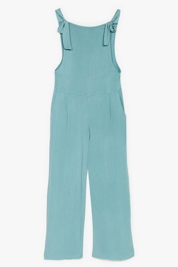Sage Tie Found You Wide-Leg Jumpsuit