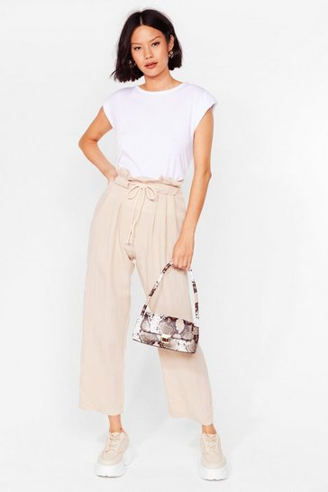 Stone Loose Yourself to Dance Paperbag Pants