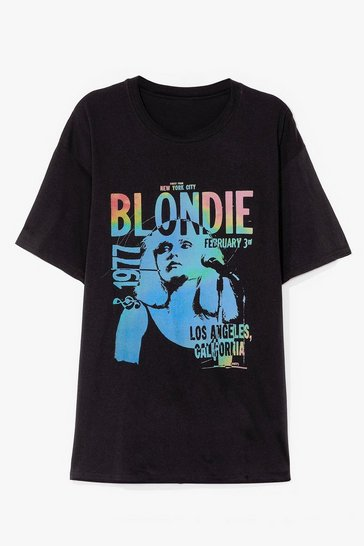 Black Blondie Graphic Band Tee
