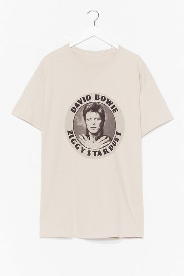 Sand Ziggy Stardust Graphic Band Tee