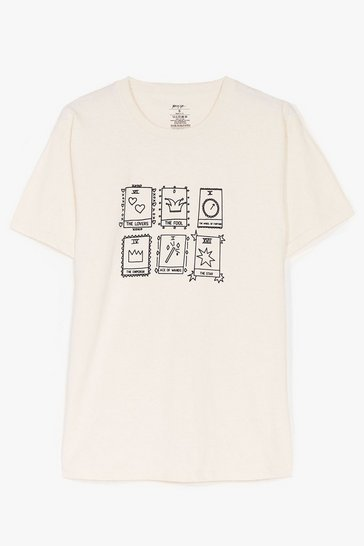 Natural Its In The Tarot Cards Graphic Tee
