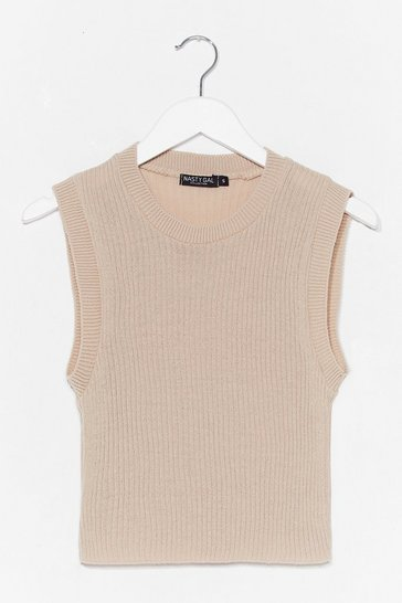 Ivory Oh Knits Old Thing Tank Top