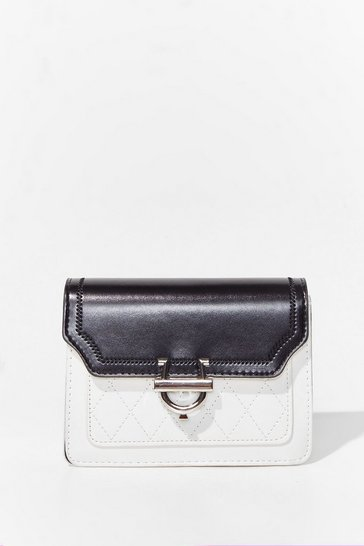 White WANT So Monochrome-atic Crossbody Bag