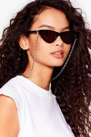 Silver Link Again Sunglasses Chain