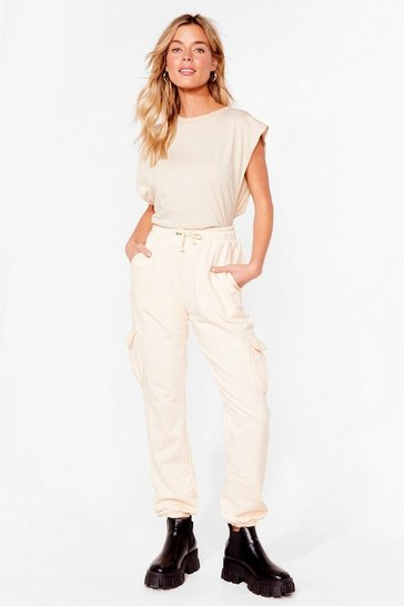 Sand Pocket What You Heard High-Waisted Joggers