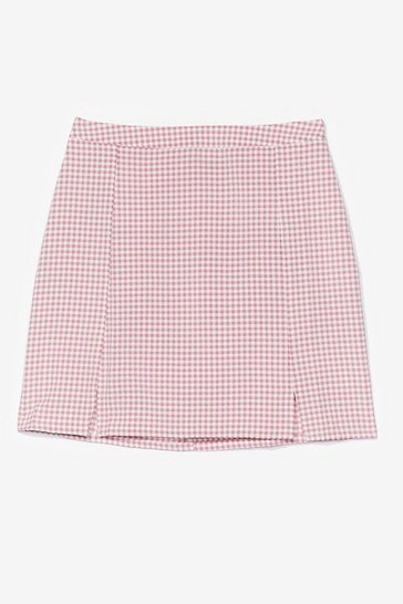 Gingham Mini Skirt Co-ord