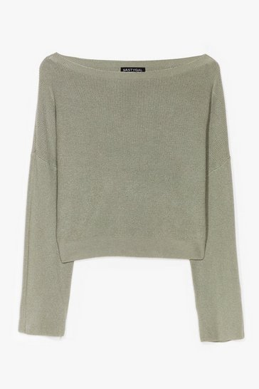 Khaki Knit's on the Agenda Relaxed Lounge Sweater