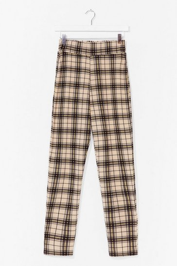 Stone Check This Out High-Waisted Pants