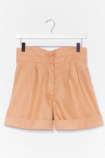 Sand The Dart of Expression Tailored Shorts