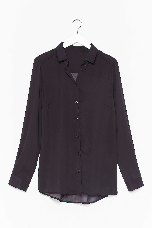 Going Back to Basics Plus Chiffon Shirt 2