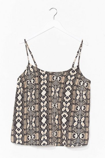 Stone Snake It Count Relaxed Cami Top