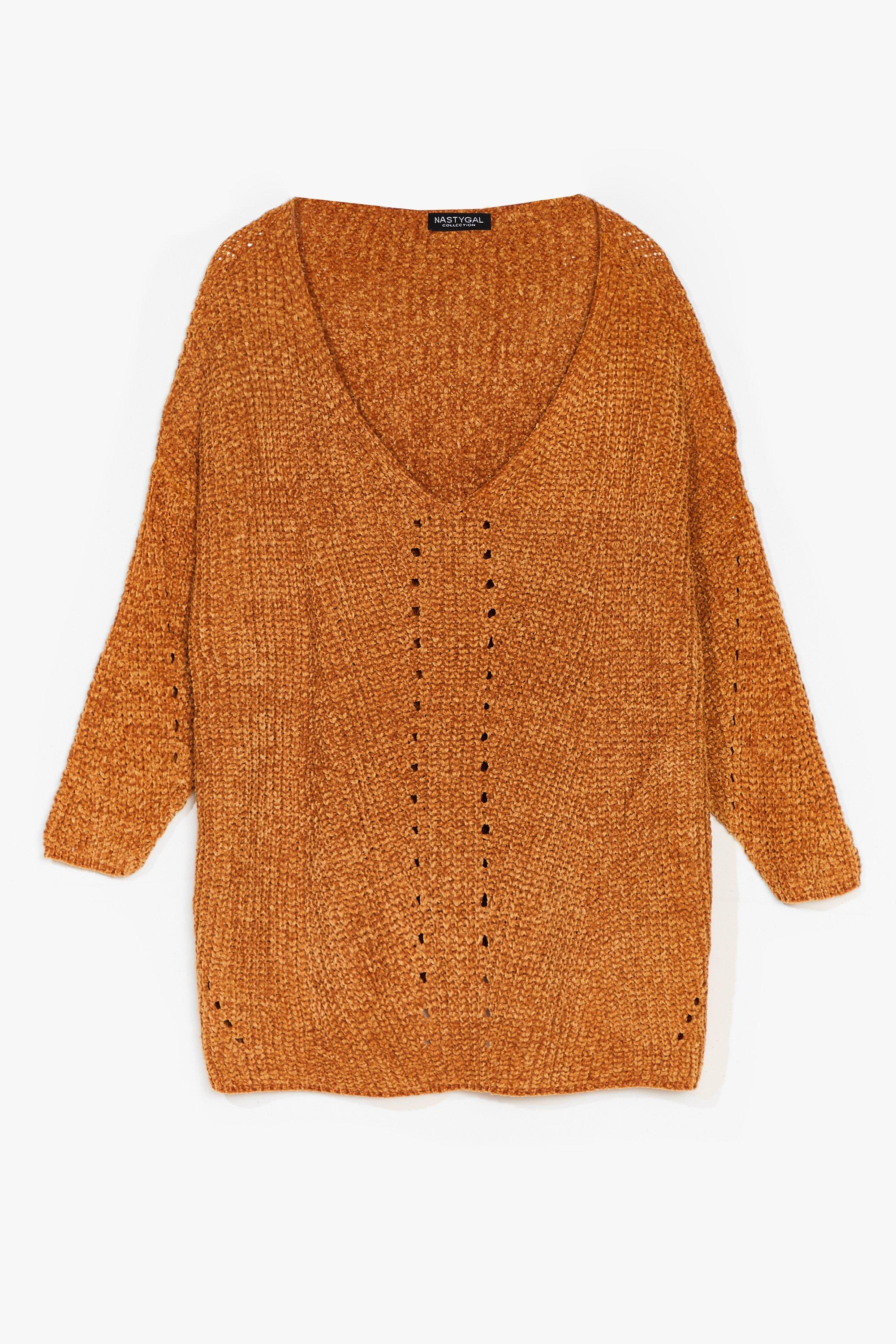 Luxe Good to Us V-Neck Knit Sweater 7