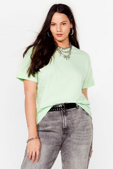 Mint The Basic Facts Plus Oversized Tee
