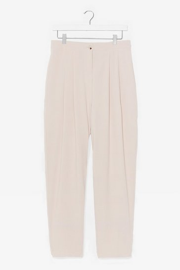 Stone Work It Out High-Waisted Tapered Pants