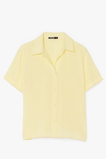 Lemon Think Outside the Box-y Oversized Shirt