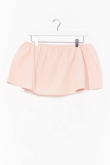 Blush Knock Me Off My Feet Crop Top