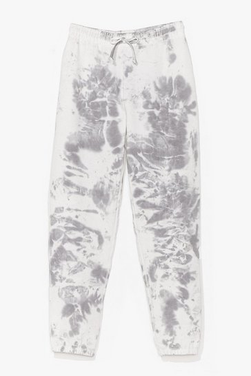 Grey You're All Tie Want Tie Dye Joggers