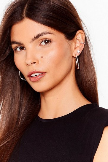 Gold Shine On 6-Pc Hoop Earrings