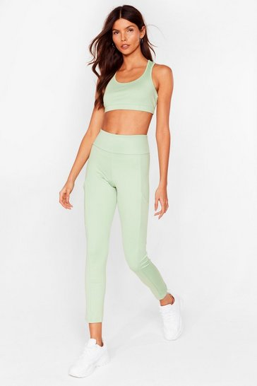 Sage Pocket With the Program Workout Leggings