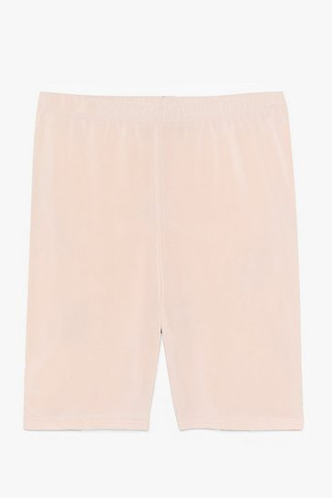 Light pink Bike It or Not High-Waisted Shorts